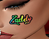 Zaddy Custom Face Tattoo
