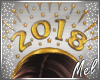 ♬~ 2018 Party Hat Gold