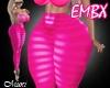 EMBX LIST BIMBO LEG PINK