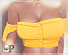 Beach Top Yellow