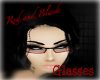Red and Black Glasses
