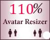 110% Scaler Avatar Resiz