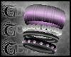 TTT Mixed Bangles~Purple