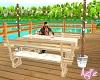 Beach Deck Table 4 Poses