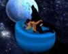bleu wolf hot cushion