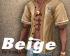 Beige Baseball Jersey