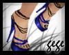 [GG]Strappy Heels Blue