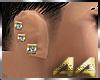 [AA] Earring Gold