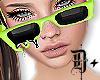 D+ Melt Glasses LimeGN/F