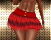 Red Glitter Cat Shorts