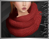 (A) Baggy Scarf Red