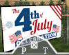 4th of July Big Screen
