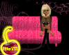 Girl Groove Pink Couch