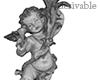 MDX Cherub Statue L
