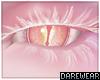 Albino Snow Snake Eyes