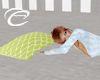 Lime Pillow Couple's Nap