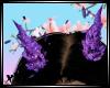 Glitter Purple Horns