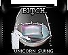 !B Unicorn Xmas Swing