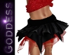 Black/Red Fairy Skirt