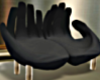 T- Hands  Couch black