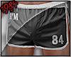 1984 Fit Shorts Grey