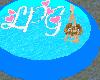 Blue Trampoline