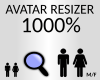 avatar resizer 1000%