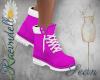 RVN♥ Sean Boots Pink