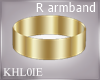 K Goddess R armband