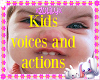 funny kids action voice