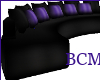 Black & Purple Couch