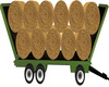 Country Hay Wagon