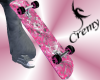¤C¤ BadGirl Pink SkateB