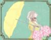 A: Umbrella yellow
