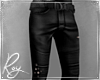 Leather Gunner Pants