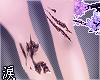涙 knee scars