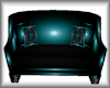 Teal/Black Couch 2