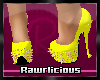 [RAWR]Patty Heels Yellow