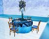 Romantica table Blue