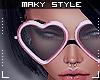 M:Love Pink Glasses