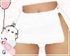 ♚ Cute White Skirt