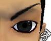 Evil Black brows