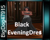 [BD]BlackEveningDress