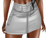 TEF TIFFY LEATHER SKIRT