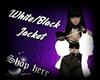 White black Jacket