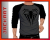 Spiderman Black Tee