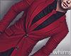 Romantic Red Suit