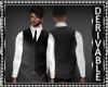 Vest/Shirt wNecktie Mesh