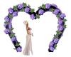 Arch Flowers Lavender