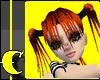 Emo Pumpkin Pigtail